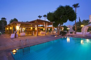 pool nigh ajax hotel