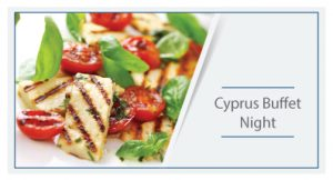 Cyprus buffet night