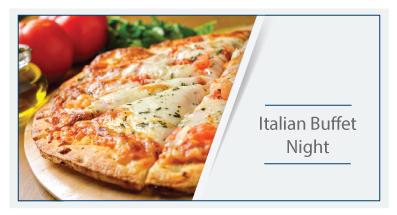 italian buffet night